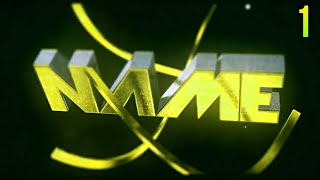 TOP 10 Intro Templates Cinema 4D & After Effects #1 + Free Download (Intro Editable) ✔