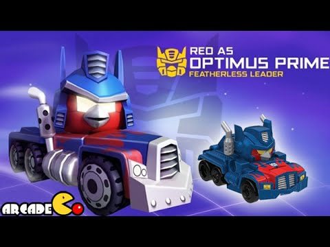 Angry Birds Transformers: Telepods Optimus Prime Auto Birds Gameplay Part 50 video
