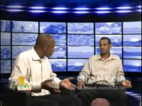 ESAT Ethiopia Ye Ehud Weg Tamage Beyene back from South Africa YouTube.rv