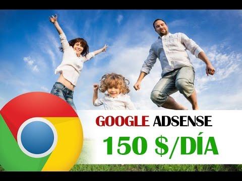GOOGLE ADSENSE - Como Ganar Dinero Con Google Adsense 2017 | 150$/día