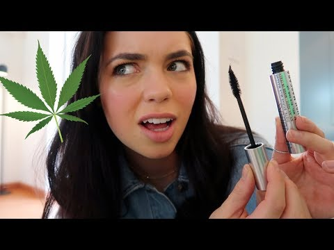 THIS MASCARA HAS WEED IN IT?!