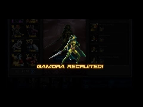 Marvel Avengers Alliance: Gamora Recruited (New Character)
