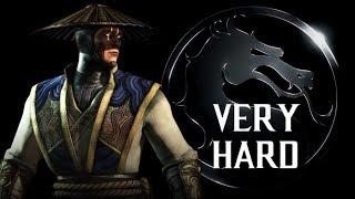 Mortal Kombat X - Raiden (Displacer) Klassic Tower (VERY HARD) NO MATCHES LOST
