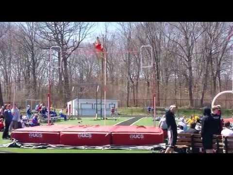 """Norwayne High School Brock Morris 14' 9"""" Pole vault"""