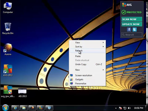 How to Uninstall AVG Internet Security 2013 (Beta)