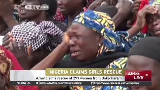 Nigerian army claims rescue of 293 women from Boko Haram