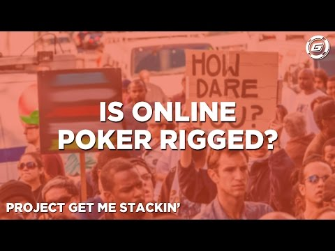 online poker rigged