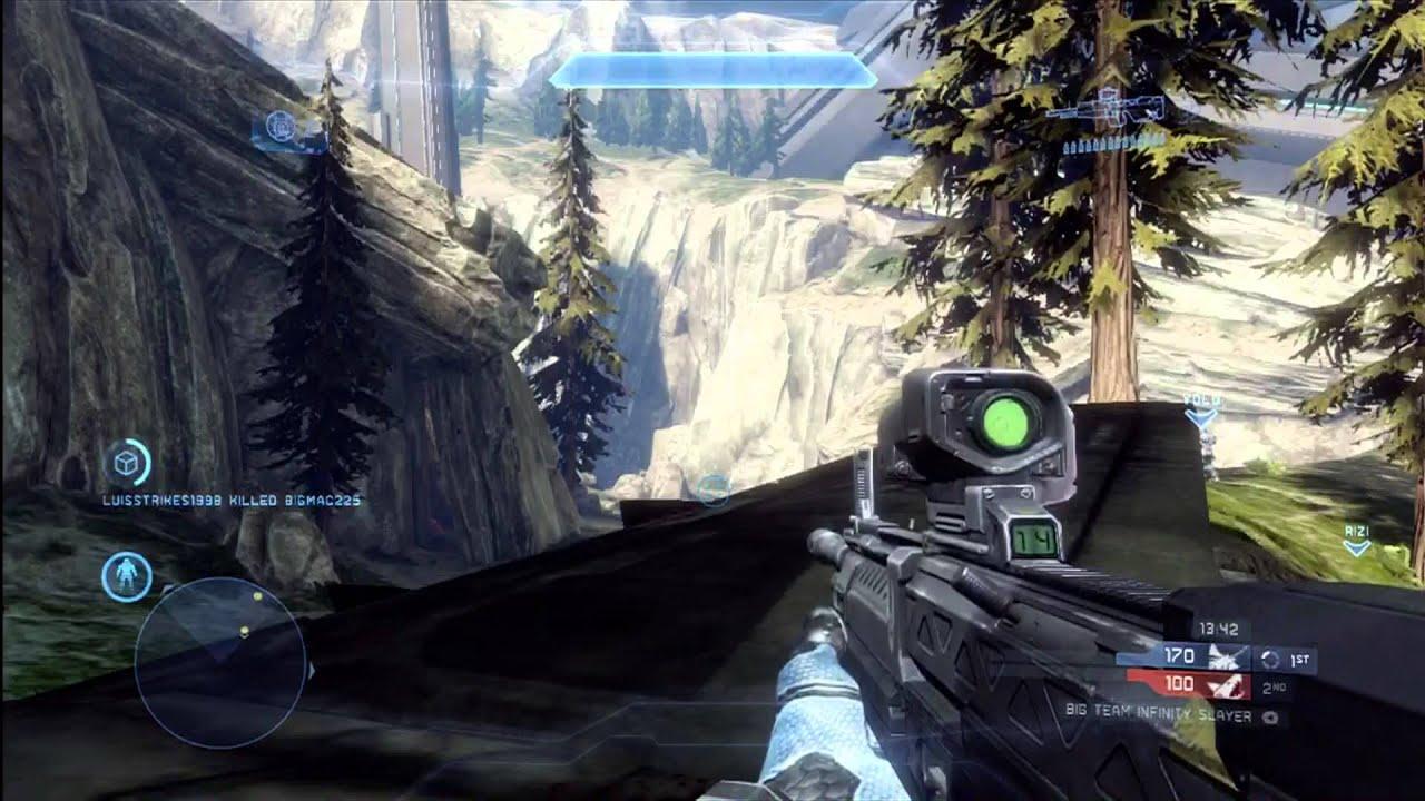 Halo 4 Multiplayer Gameplay Infinity Challenge | Win ...