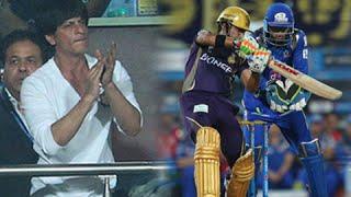 Shahrukh Khan's Kolkata Knight Riders Beat Mumbai Indians - IPL 2015 KKR v MI