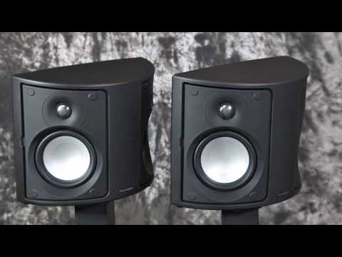 Stereo Design Paradigm Monitor Surround 3 S.7 Rear Speakers in HD