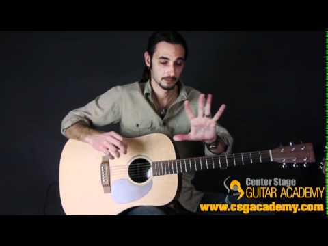 HOW TO PLAY GUITAR FOR BEGINNERS : PLAYING EXERCISE 1 FOR BEGINNERS