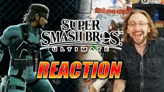 MAX REACTS: Snake, Ridley & EVERYONE - Super Smash Bros. Ultimate