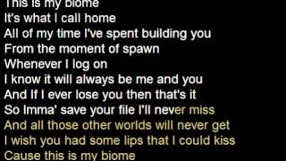 [Karaoke with Lyrics] This Is My Biome - BebopVox