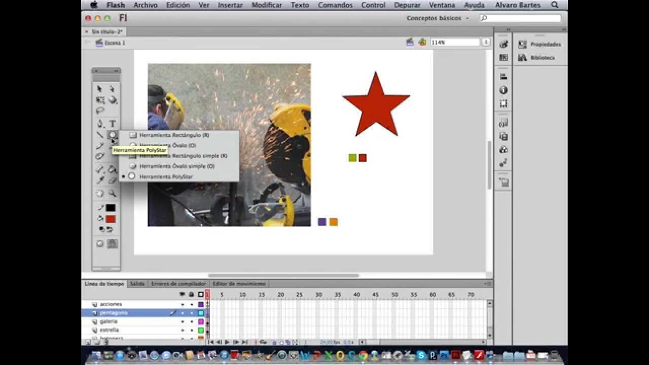 Flash tutorial movie clip