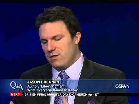 Jason Brennan, &quot;Libertarianism: What Everyone Needs to Know&quot;