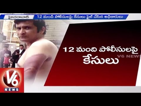 Four policemen suspended for 'beating up' NRI - Hyderabad (30-06-2015)