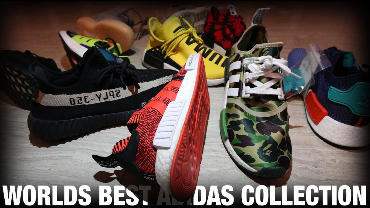 THE BEST ADIDAS BOOST COLLECTION IN THE WORLD??