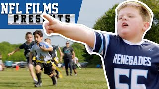 Flag Football Kids Mic'd Up! | NFL Films Presents