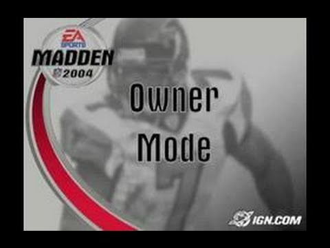 Madden NFL 2004 PlayStation 2 Gameplay
