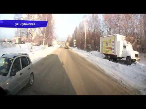 Видеорегистратор. Драка водителей УАЗа и Порш. Место происшествия 05.12.2016