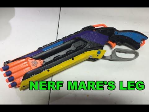 Nerf Mare's Leg - Model 1887 Roughcut 2x4 Mod