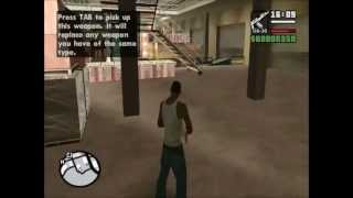 GTA San Andreas: Los Santos Weapon Locations Part #1