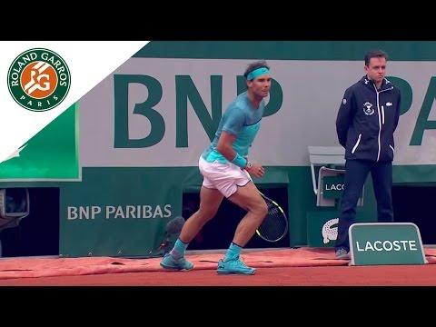 Roland Garros 2016 - Hot shot  - Rafael Nadal