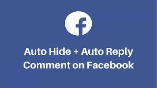 Facebook Page Comments Moderation Tool - Moderate, Auto Replies, Hide & Unhide Comments