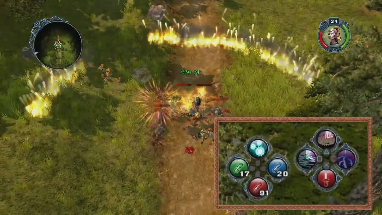 sacred 2 fallen angel online gameplay