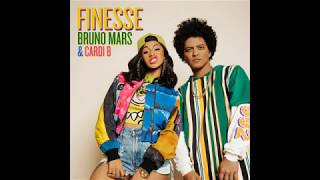 Download Lagu [ 1 hour ] Bruno Mars - Finesse (Remix) [Feat. Cardi B] Gratis STAFABAND