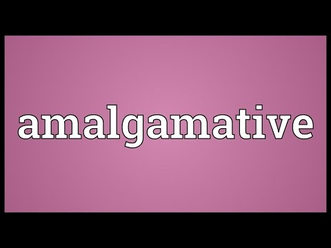 Header of Amalgamative