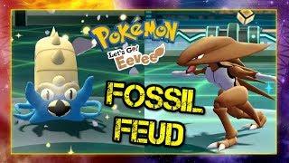 Pokemon Let's Go Pikachu & Eevee Wi-Fi Battle: Fosssil Feud