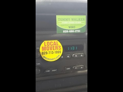 How to change time Clock in a UHaul Asheville NC moving truck