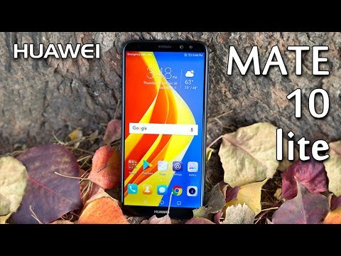 Huawei Mate 10 lite Review 10 lite Unboxing