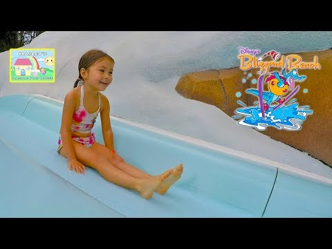 DISNEY'S BLIZZARD BEACH WATERPARK Family Raft Worlds Longest WaterSlide Best Vacation Kids Review