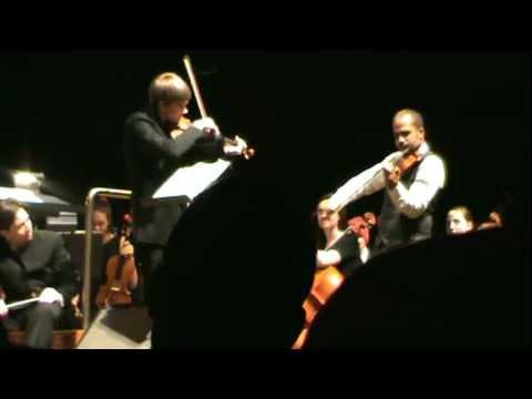 DBR and Daniel Knapper IMPROV Violin DUET to Amazing Grace