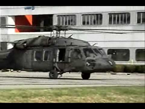 UH-60 Blackhawks , SH-60 Seahawks and CH-47 Chinook Startup and Takeoff Video