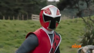 Power Rangers Ninja Steel - Return of the Prism - Intro Scene / Original Red Ranger (Episode 1)