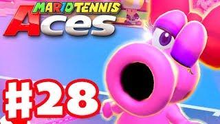Mario Tennis Aces - Gameplay Walkthrough Part 28 - Birdo! Online Tournament! (Nintendo Switch)