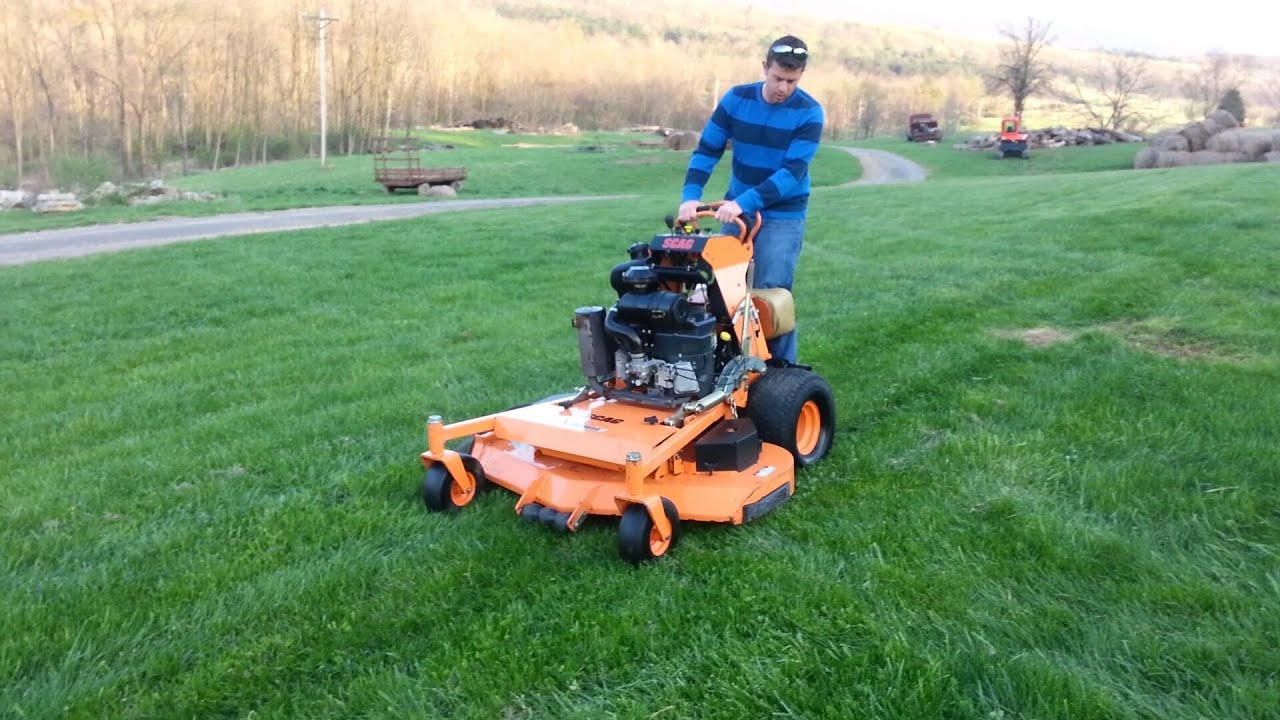 2010 Scag 52 Quot Stand On Mower Youtube