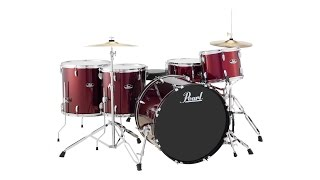 Pearl Roadshow 5-piece Complete Drum Set with Cymbals Review by Sweetwater