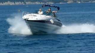 Crownline 250 Cr motor boat test with Mercruiser Mag 350 / B3  May 2012 by Jadran Furlan