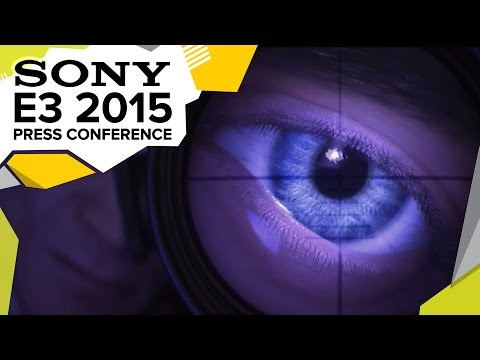 All The Sony Games Montage! E3 2015