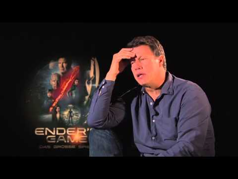 HARRISON FORD Mistake At ENDER´S GAME Talk With Director Gavin Hood + Movie Props And