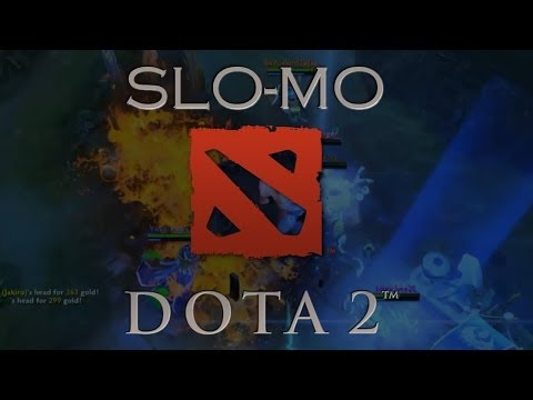 AOE Over Kill Slo Mo Dota 2