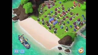 Boom Beach — CHN | 小假童鞋 (world top 1) destroyed ЖМ, 6 boosted ices
