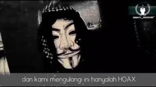 Pesan Dari Anonymous Untuk Indonesia yang Merasa Di Fitnah