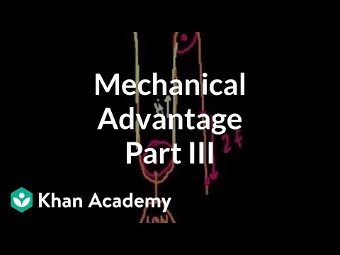 Mechanical Advantage (part 3)