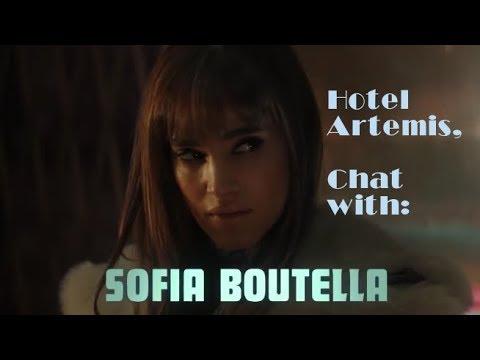 "Sofia Boutella On ""Hotel Artemis"" Drew Pearce First Feature Film"
