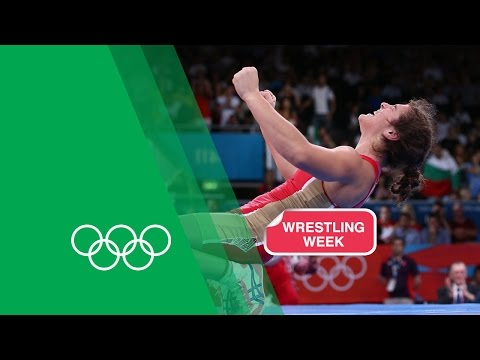 Natalia Vorobieva relives her Freestyle Wrestling Gold - London 2012   Olympic Rewind